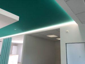 planification et étude d'éclairage de bureaux avec rd light