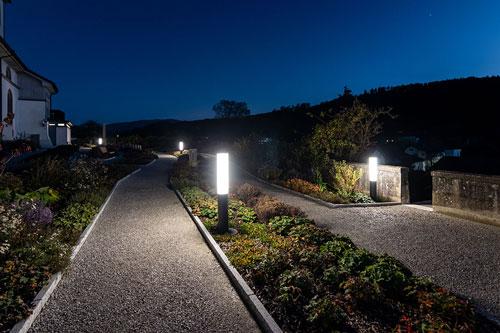 planification d'éclairage public extérieur avec rd light