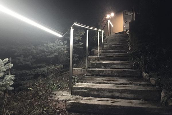 éclairage extérieur