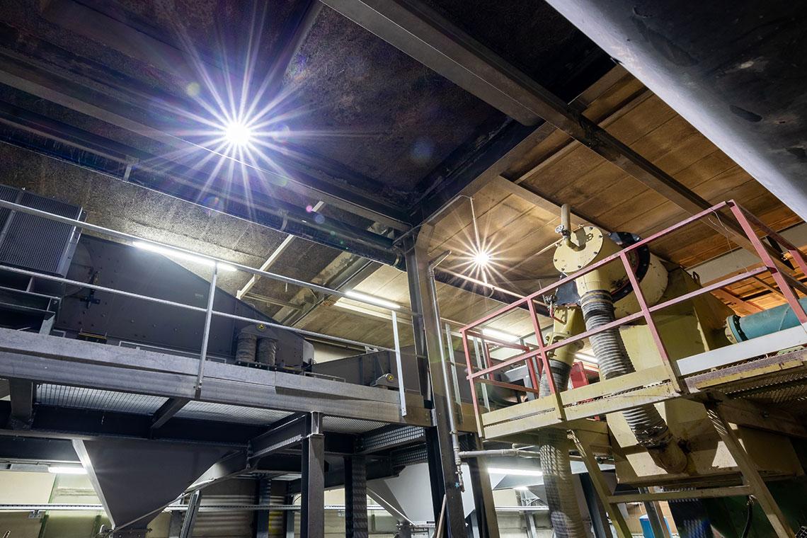 éclairage intérieur extérieur industrie