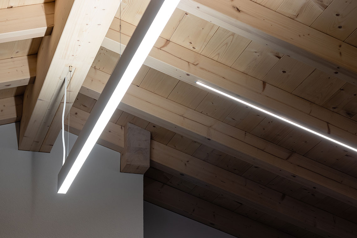 planification d'éclairage intérieur direct et indirect d'une maison villa Fribourg