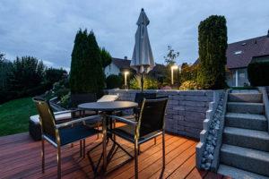 planification d'éclairage basse consommation pour jardin et extérieur